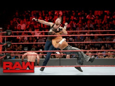 Seth Rollins & Dean Ambrose vs. The Hardy Boyz: Raw, Aug. 21, 2017