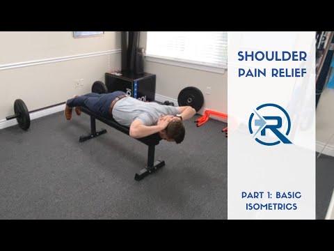 Shoulder Pain Relief | Part 1 - Basic Isometrics | Midvale Utah Sports Injury Chiropractor