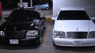 Mercedes Benz S-class Evolution (History)  | Best HD video about S-klasse