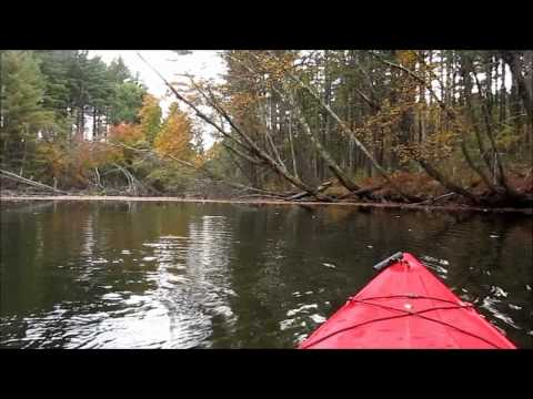 JEQ1966, Swift River, Kayak Trout Fishing