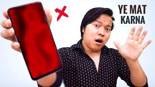 Download Smartphone Mistakes ⚠️ ⚠️Ye Galtiya Phone Mein Bilkul Mat Karna !!