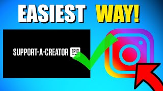 Use INSTAGRAM To Gęt A Support A Creator Code! (Fortnite Season 5 Chapter 2) (+GIVEAWAY)