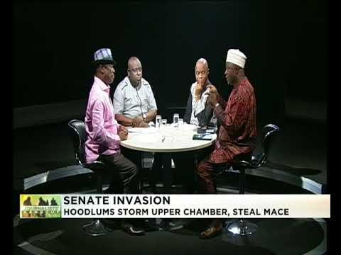 Journalists' Hangout 18th April 2018 | Hoodlums invade NASS, steal Senate's Mace