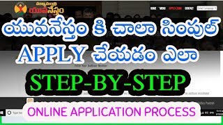 MUKHYAMANTRI YUVA NESTHAM ONLINE APPLICATION PROCESS | HOW TO APPLY YUVANESTHAM