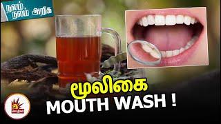 மூலிகை Mouthwash | பற்களை உறுதியாக்கும் சித்த மருத்துவம்| Nalam Nalam Ariga | Natural Mouthwash