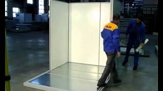 Смотреть видео Холодильная камера Polair КХН-10