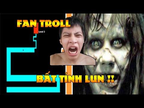 Tigerr bị hù ma - Fan troll - The MAZE game ( Đừng chơi game này đó nha )