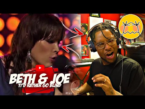 PATREON REACTION | Rapper Reacts To Beth \u0026 Joe - I'd Rather Go Blind - Live in Amsterdam