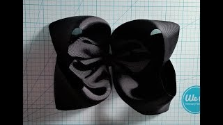 Giant Twisted Boutique Bow (TBB) with 3 inch ribbon
