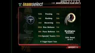 nfl qb club 2001 dreamcast gameplay cpu vs cpu