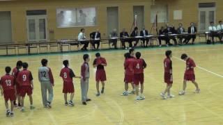 岩手県高校総体 ハンドボール男子決勝 不来方23-22花巻北