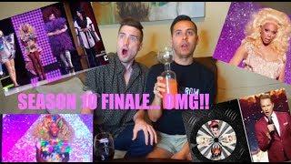 Rupaul's Drag Race Season 10 Finale {REACTION}