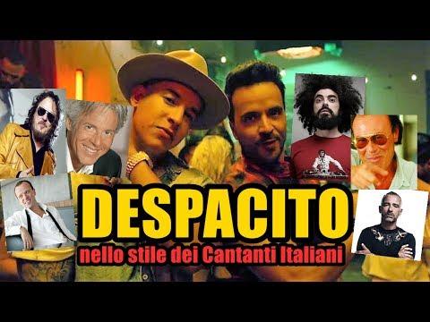 DESPACITO  | nello stile dei Cantanti Italiani | visibile da pc