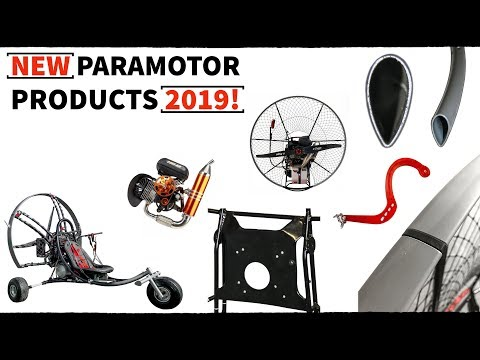 NEW 2019 Paramotor Products & Reviews: Kestrel V3, New Engine, and More!