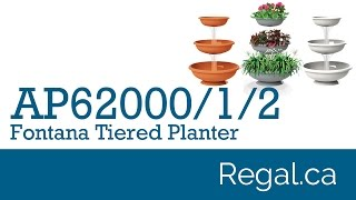 Ap62000, Ap62001, Ap62002 - Fontana Tiered Planter From Regal Gifts