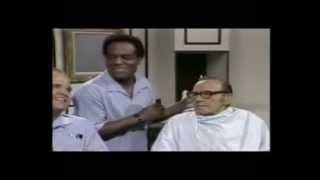 Jack Benny, Dom Deluise, Nipsey Russell & Dean Martin - Barbershop