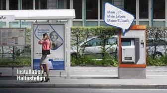 """Linz AG Employer Branding Kampagne. """"Mein Job. Mein Leben. Meine Zukunft."""""""