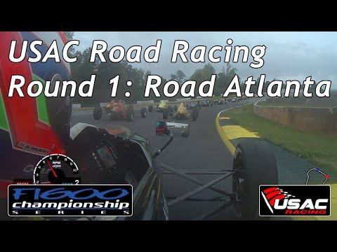 USAC Road Racing | 2018 Formula 1600 Round 1: Road Atlanta