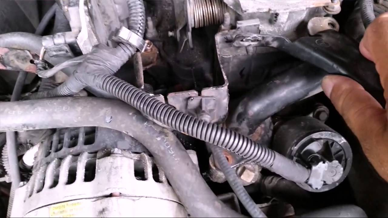 1998 olds bravada thermostat replacement