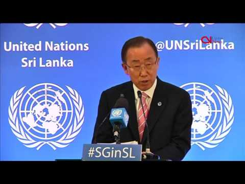 Sri Lanka's war victims 'cannot wait forever': Ban Ki-moon