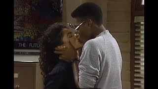 A Different World: 2x04 - Whitley accidentally kisses Dwayne (HD)