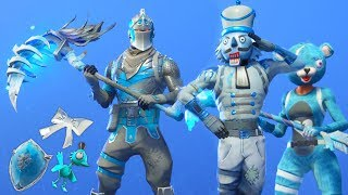 I Created my own Frozen Fortnite Skins and they looked Insane...! *FROZEN LEGENDS V2*