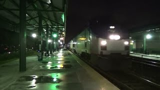 Amtrak PO91 With 5 PVT Cars And PO97 With 2 New Viewliner Baggage Cars