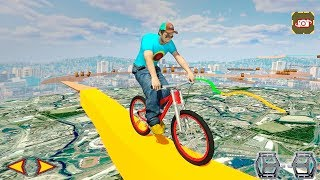 BMX Stunts Racer 2017 - Gameplay Android game - extreme stunts in this cycling game