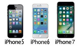 iPhone'ları Yarıştırdık - iPhone 5, iPhone 6,  iPhone 7 Hız Testi