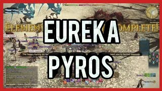 FINAL FANTASY XIV Eureka Pyros - Up and Batym Fate Completion