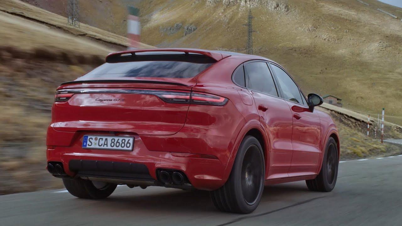 new porsche cayenne gts coupe 2021  exhaust sound