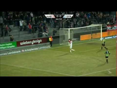 Superliga 09/03/13 AaB - Esbjerg fB