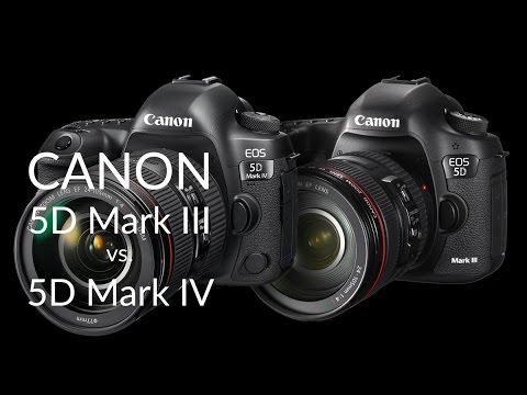 Canon EOS 5D Mark IV vs. EOS 5D Mark III összehasonlítás (magyar kommentárral)