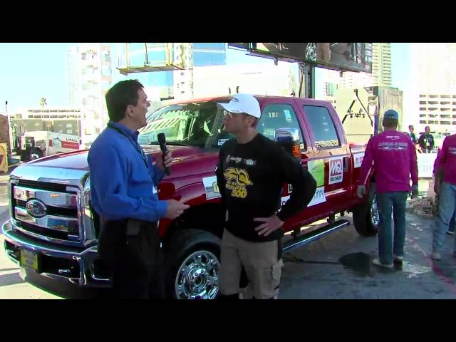 FORD TRUCK INTERVIEW AT THE 2014 SPEC MIX BRICKLAYER 500® CHAMPIONSHIP