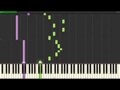 Ego Brain — System Of A Down, How To Play on Piano  Synthesia Tutorial