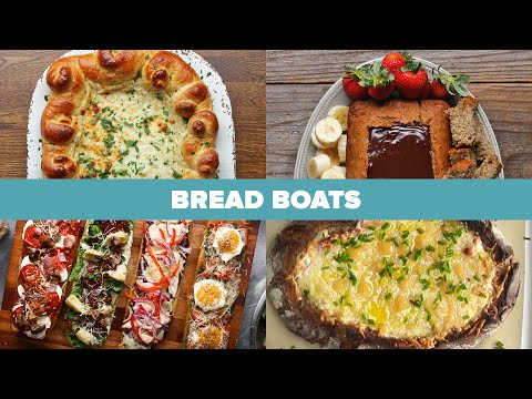 How To Make Bread Boats