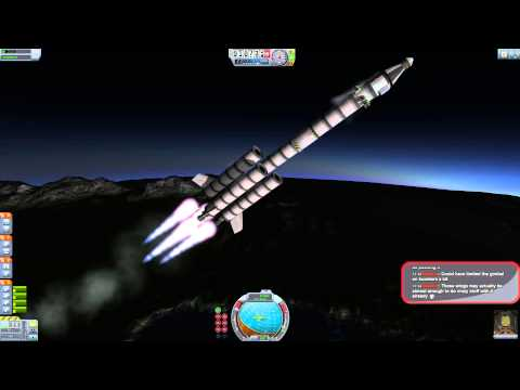 "Kerbal Space Program ""Fly me to the moon"" Part 1 Live - 21/07/2015"