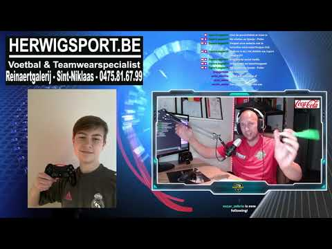 VTO FIFA Tornooi: Halve finale Maxim Sobrie - Maxim De Vlieger 0-5