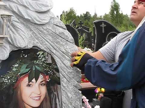 Установка памятника на кладбище в Киеве