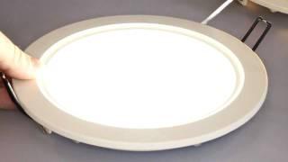 Светильник светодиодный потолочный Fusion ф200мм(Новое поколение врезных светодиодных светильников серии FUSION обладает малой толщиной-26 мм. и широким углом..., 2011-08-06T21:17:45.000Z)