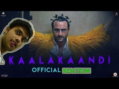Kaalakaandi | Official Trailer REACTION |...