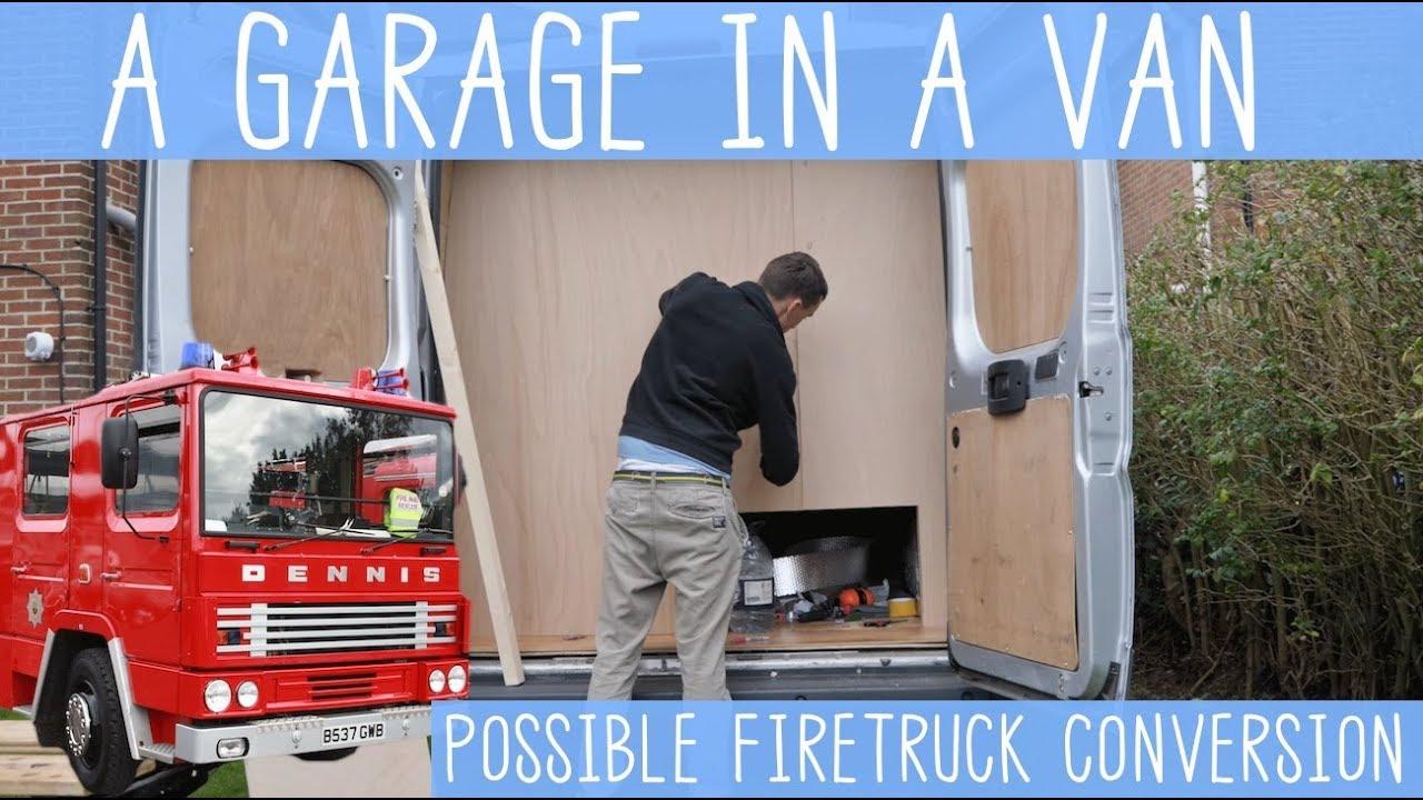 Camper Van With A Garage SUPER STORAGE