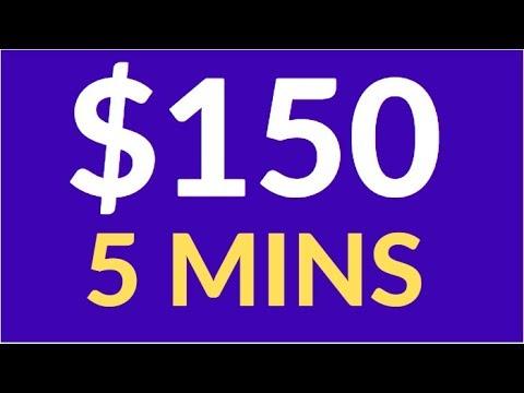 Earn $150 in 5 Mins NOW! (Make Money Online)