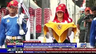 Istana Negara Jakarta Gelar Gladi Kotor HUT ke-74 RI