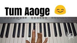 Tum Aaoge | Soham Naik | Aamir Ali | Sanjeeda | Easy Piano Tutorial