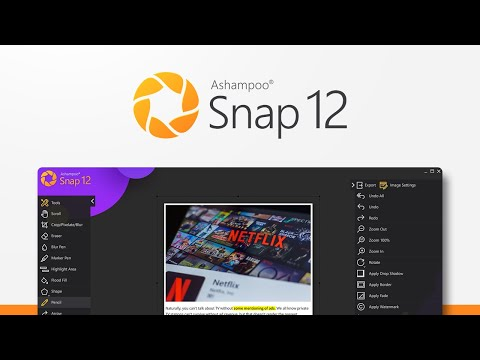 Ashampoo Snap 12 - Create screenshots quickly and with great flexibility