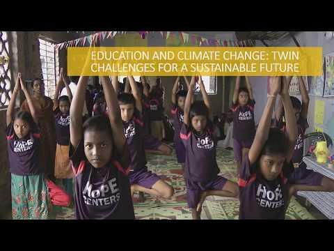 Ed Talk: Launch of the Dubai declaration - how do we educate children about climate change?