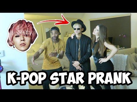 K POP STAR PRANK ON KING BACH W/ AMANADA CERNY!!