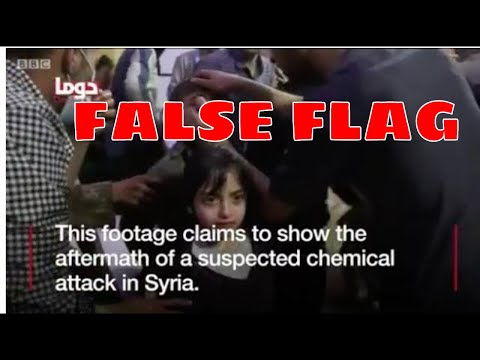 BREAKING NEWS: Chemical Attack   False Flag in Syria