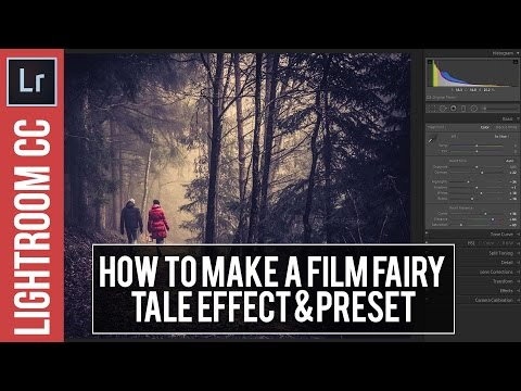 Lightroom Tutorial: Using Tone Curves to Create a Fairy Tale Look + Free Preset